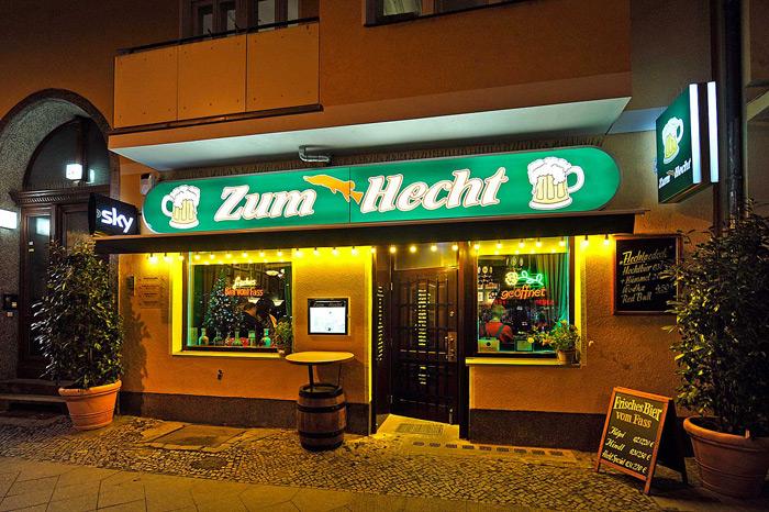 Gaststätte Zum Hecht, Berlin Charlottenburg, nahe Stuttgarter Platz